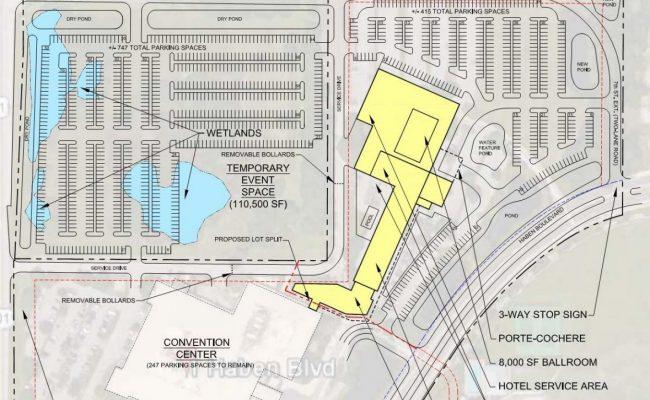 Bradenton Area Convention Site plan